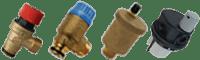 Воздушные и предохранительные клапана